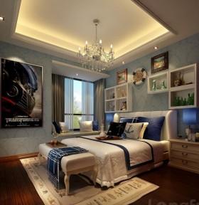 欧式风格儿童卧室装修图片