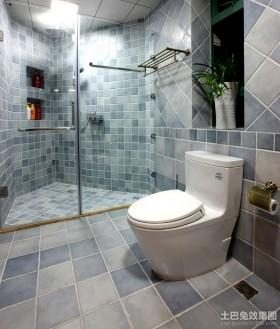 地中海风格清凉卫生间装修效果图