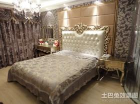 欧式三居主卧室装修效果图