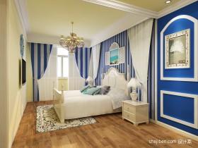 地中海小户型主卧室装修效果图