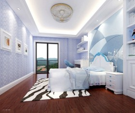 现代简约卧室装饰