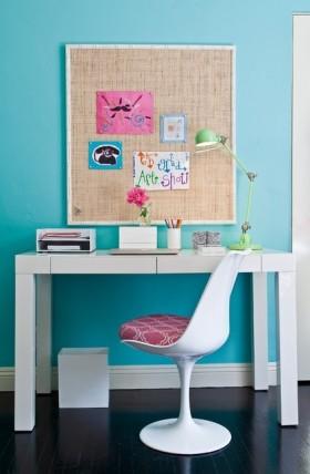 地中海風格小書桌裝飾圖片