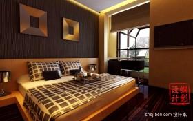 现代复式楼主卧室装修设计