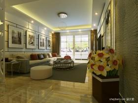 客厅沙发区装饰图片