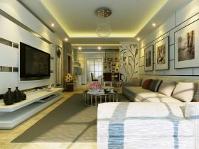 现代客厅装饰设计图片