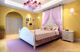女生儿童房卧室装修效果图