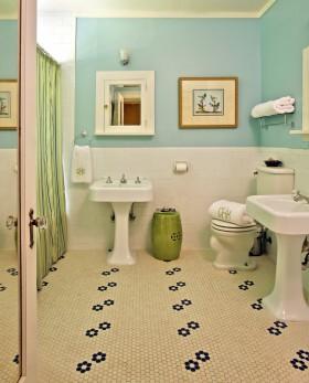 卫生间地砖装修设计图