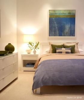 简约复式楼卧室装饰