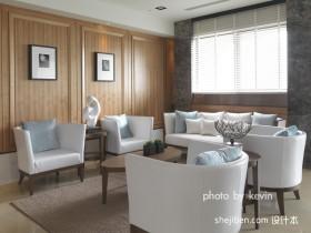 二居现代简约客厅装饰