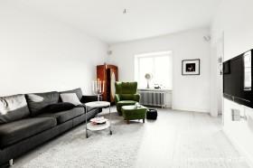 71平米小户型北欧客厅装修效果图
