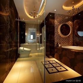 现代别墅卫生间装修设计