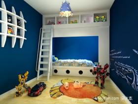地中海儿童房卧室设计