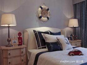地中海主卧室装饰设计