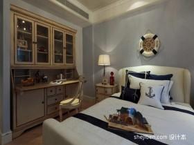 地中海三居主卧室装修设计
