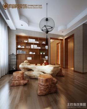 客厅茶区装修设计图片