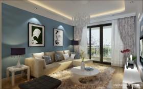 地中海客厅装饰效果图片