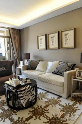 现代客厅沙发装饰图
