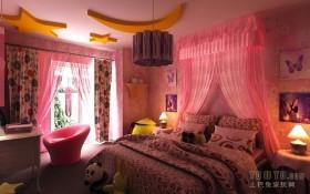 12平米婚房卧室设计效果图
