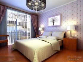 简单的卧室设计效果图