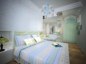 地中海臥室裝修設計效果圖