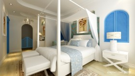 地中海风格次卧装修设计效果图