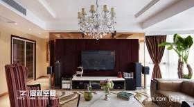 现代两居室硬包背景墙装修效果图大全2013图片