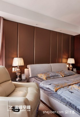 2013现代简约风格卧室装修图片