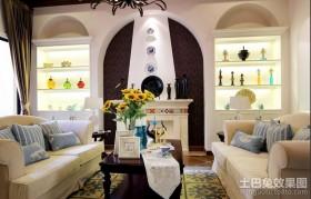 地中海客厅装饰设计效果图