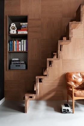 室内阁楼楼梯设计图