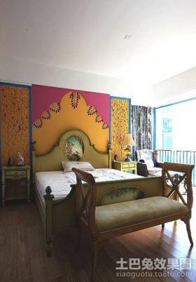 地中海二居主卧室装修效果图