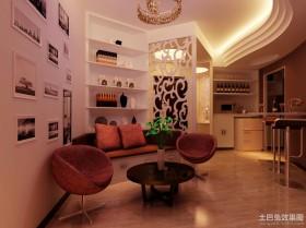40平米小户型简约客厅装修效果图