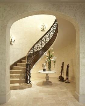 复式楼梯装修设计图片