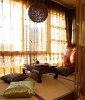 休闲区榻榻米装修效果图欣赏