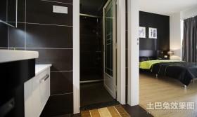 主卧室带卫生间装修