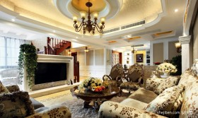 古典客厅装修效果图