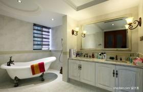 2013古典家居装饰卫生间装修图片