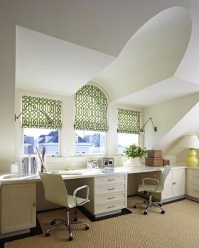 创意现代斜顶阁楼设计图