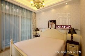 2013田园风格卧室装修效果图片
