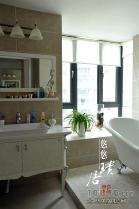 简约卫生间装修设计图片欣赏