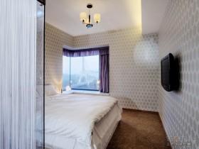 简约三居主卧室装修效果图大全2013图片