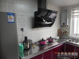 二居开放式小厨房装修效果图