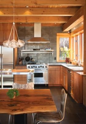 整体厨房餐厅吊顶装修效果图