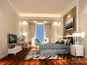 现代简约卧室装修效果图大全2013图片欣赏