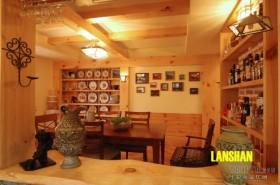 田园餐厅装修效果图片欣赏