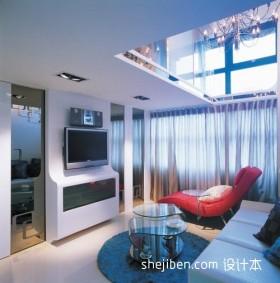 现代小客厅装修效果图片