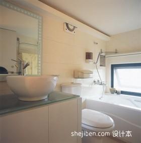 现代卫生间装修效果图片