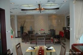 新中式小户型餐厅装修案例