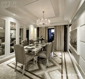 欧式风格复式餐厅装修效果图片欣赏
