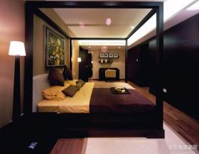 新中式四居主卧室装修效果图片