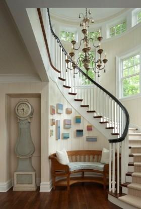 复式楼梯装修效果图片